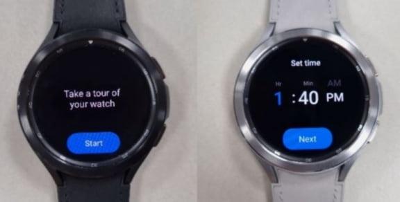 Samsung Galaxy Watch 4 [출처=트위터(@MaxWinebach)]