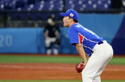한국 야구, 일본에 2-5 패배…오늘 패자 준결승전