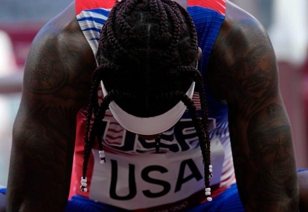 강력한 금메달 후보로 거론되던 미국 육상 남자 400m 계주팀이 예선에서 충격 탈락했다. 사진=AP