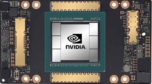 엔비디아 그래픽 칩. 한경DB