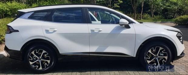 기아의 준중형 SUV 5세대 스포티지. 사진=오세성 한경닷컴 기자