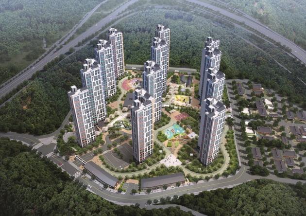 KTX안동역 인근 마지막 2억원대 아파트 '안동역 영무예다음 포레스트' 공급