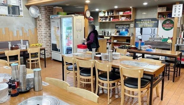 사진은 지난 18일 오후 서울 시내의 한 식당의 모습. 사진=뉴스1