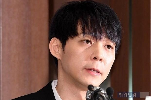 2019년 기자회견을 열고 마약 혐의를 강력히 부인하며 '연예계 은퇴'까지 언급했던 박유천 /사진=한경DB