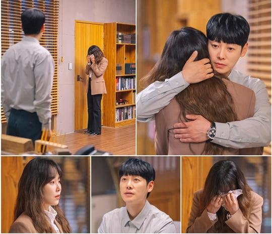 서현진♥김동욱, 폭풍 절규 감싸 안은 '치유 포옹 투샷' ('너는 나의 봄')[종합]