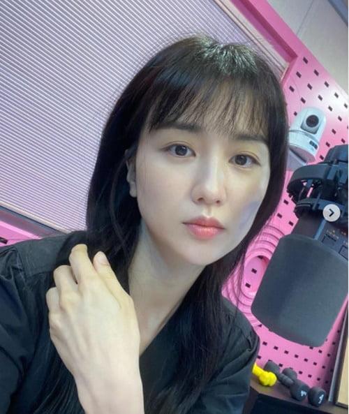 """박하선 """"긴 머리 오랜만""""…'♥류수영' 또 반할라 [TEN ★]"""