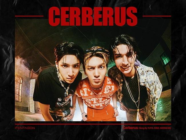'막내라인의 저력' 펜타곤 유토-키노-우석, `Cerberus` 아이튠즈 10개 지역 1위