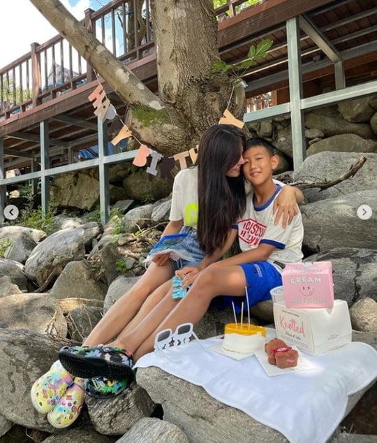 "'171cm·49kg' 김성은, '♥정조국' 붕어빵 아들과 여행 ""기억에 남는 생일 되길"" [TEN ★]"