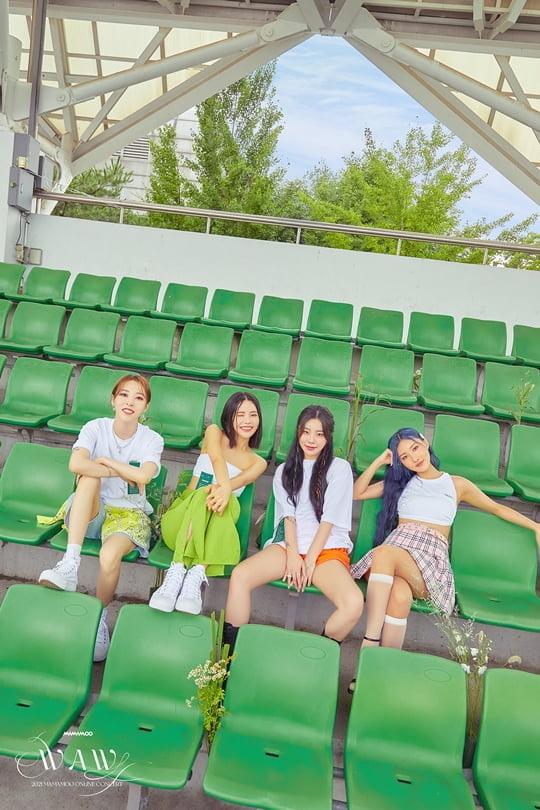 마마무, 데뷔 첫 온라인 콘서트 'WAW' 티저 이미지 추가 공개