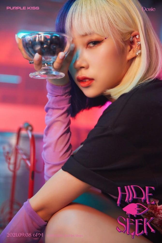 퍼플키스 나고은X도시, 새 앨범 `HIDE & SEEK` 개인 콘셉트 포토 공개…`펑키+신비` 호러틱한 분위기
