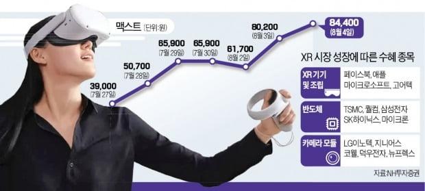 삼성·애플도 '메타버스' 뛰어든다…관련주 들썩