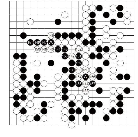[제25기 하림배 프로여자국수전] 黑, 대마 생포