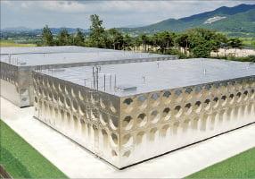 세계 첫 '면진형 물탱크' 선보인 문창, 강진에도 끄떡없이 안전한 물 공급