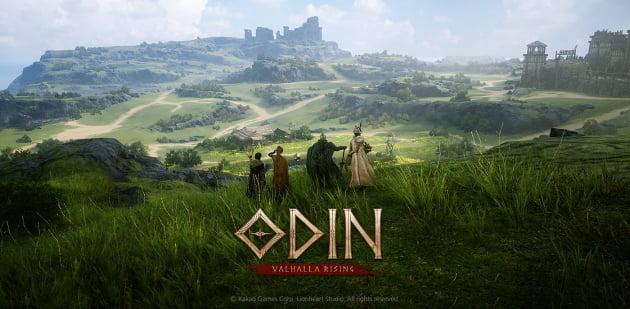 카카오게임즈의 대표 모바일 게임 '오딘'. 출처: 카카오게임즈