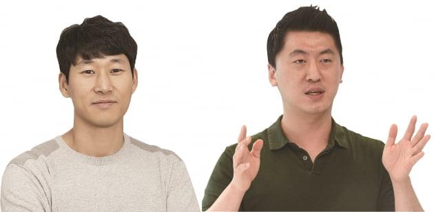 이수진 야놀자 총괄대표(왼쪽)와 김종윤 야놀자 부문대표 겸 야놀자 클라우드 대표.