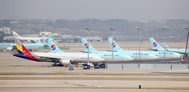 대한항공에 인수된 아시아나항공. 출처: 연합뉴스