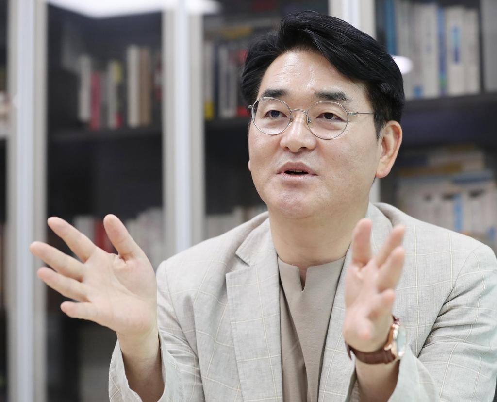 """[인터뷰] 박용진 """"기본소득, 국가 우환…이낙연은 패배의 기록뿐"""""""