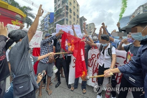[인터뷰] 쿠데타 6개월 '저항은 계속된다' 미얀마 젊은이들