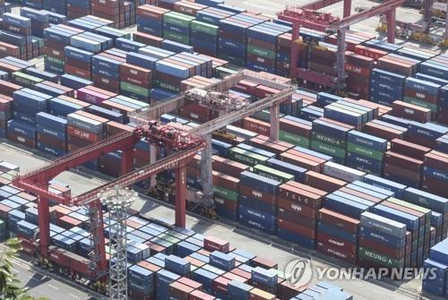 [2보] 7월 수출 554억달러로 역대 1위…65년 무역역사 다시 썼다