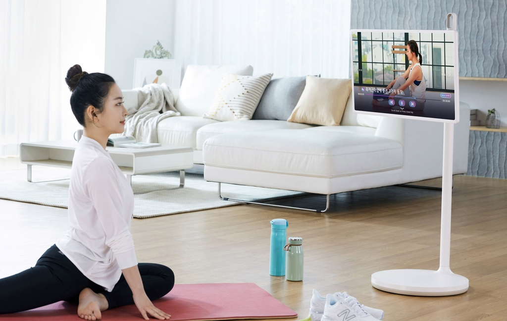 "LG전자 ""LG TV로 '홈트' 하세요""…'LG 피트니스' 서비스 시작"