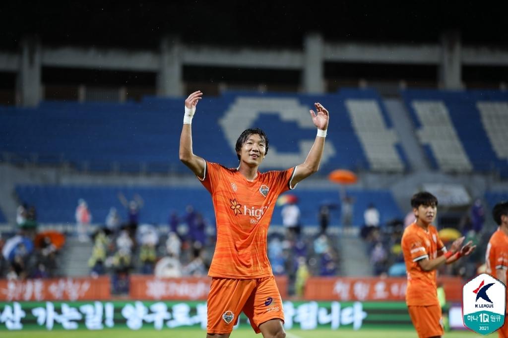 박병현 장군·고영준 멍군…대구, 포항과 1-1 무승부로 2위 도약