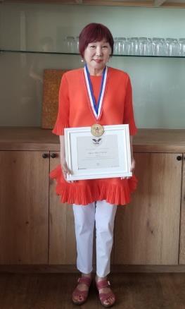 재미동포 정미호 씨, 미국 대통령 봉사 금상 수상