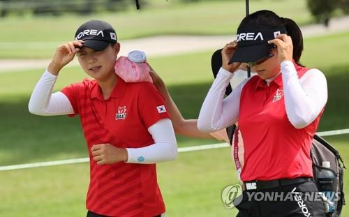 [올림픽] 여자골프 1·2R 폭염 예고…한국 선수들 컨디션 조절에 중점
