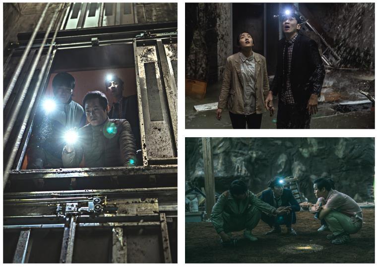 진흙부터 차오르는 물까지 땅속 고군분투…영화 '싱크홀'