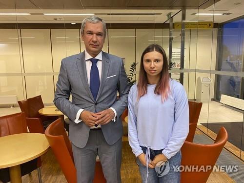 [올림픽] 망명 신청한 벨라루스 육상선수, 폴란드 도착