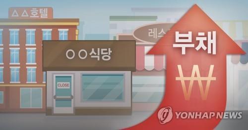 """""""끝이 안 보인다""""…소상공인 매출 '반토막'에 빚만 쌓여"""