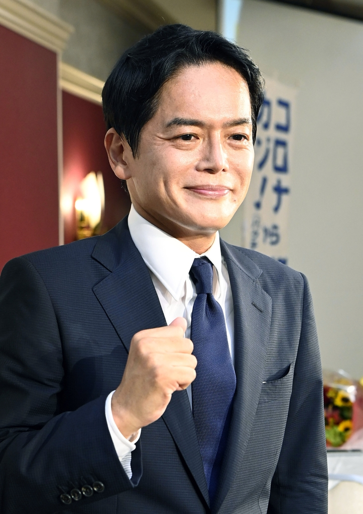 日요코하마 시장선거서 스가 최측근 후보 낙선 확실(종합)