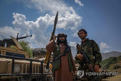 """미군 '카불 구출 작전' 속도…""""탈레반, 아프간통치 12인회 결성""""(종합2보)"""