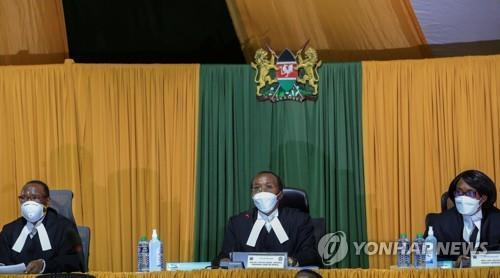케냐, 개헌안 법원 거부에 내년 대선 불확실성 커져