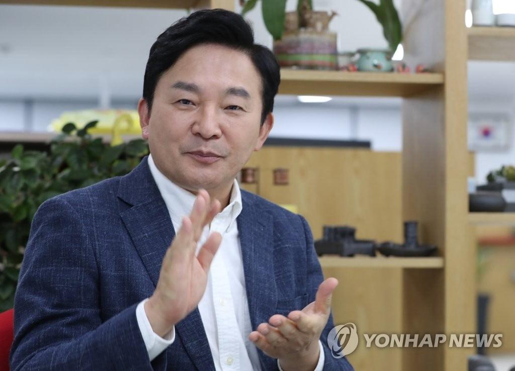 """원희룡, 제주도지사 사퇴…""""정권교체만이 국민통합 이룬다"""""""