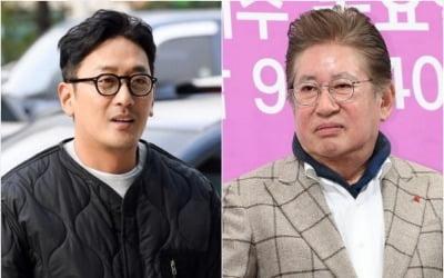 """김용건, '혼전임신 스캔들'…하정우 측 """"개인적인 일"""""""