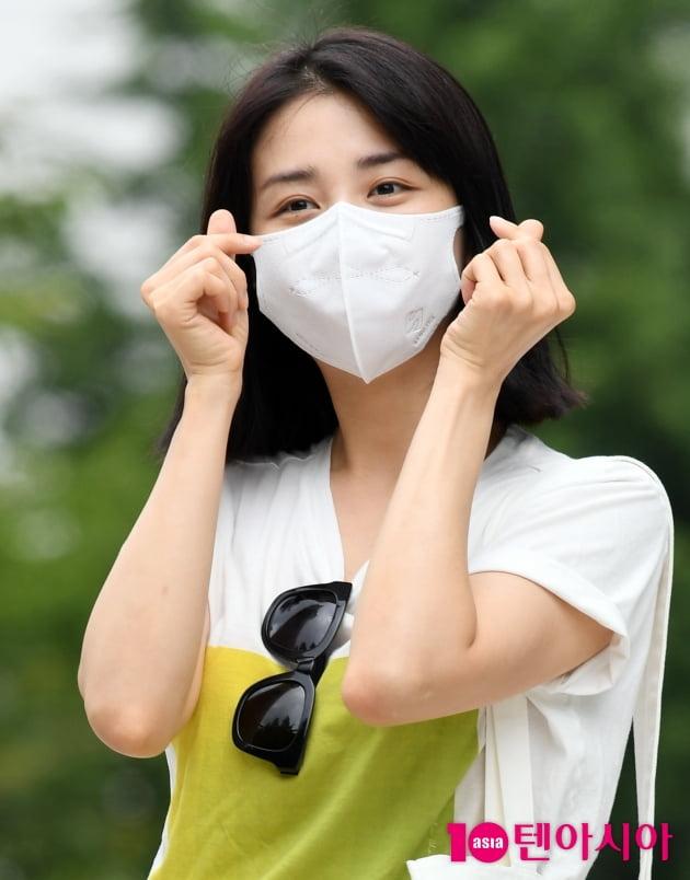 [TEN 포토] 박하선 '아름다운 하트'