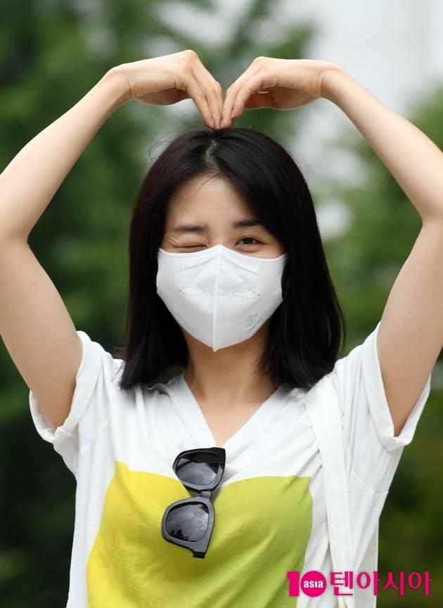 [TEN 포토] 박하선 '치명적인 윙크'