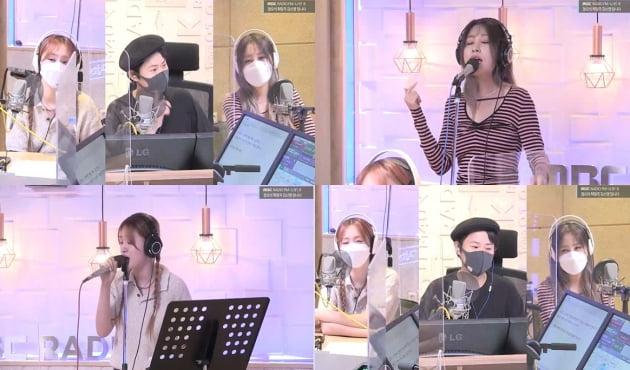 쏠-김신영-권진아./ 사진='정희' 보이는 라디오