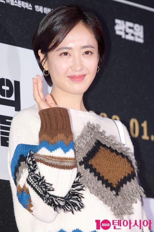 배우 김민정. /텐아시아DB