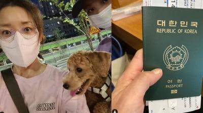 '3번 이혼' 이아현, 큰딸 유학 보낸 심경 고백
