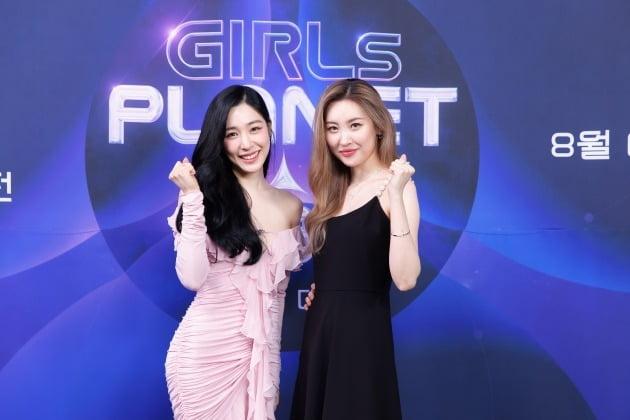 '걸스플래닛999 ' 티파니 영, 선미/ 사진=Mnet 제공