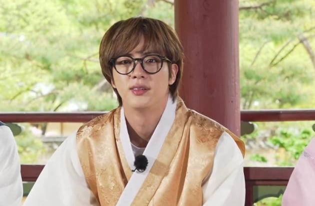 '내가 왕이 될 상인가' 방탄소년단 진, 한달만에 돌아온 달방 조선시대 관상가로 변신