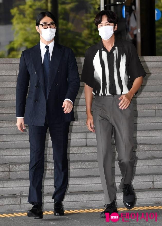 [TEN 포토] 차승원-이광수 '걷기만 해도 화보네'