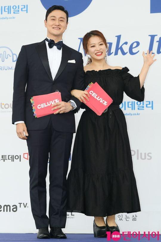 김원효심진화 부부/ 사진=텐아시아DB