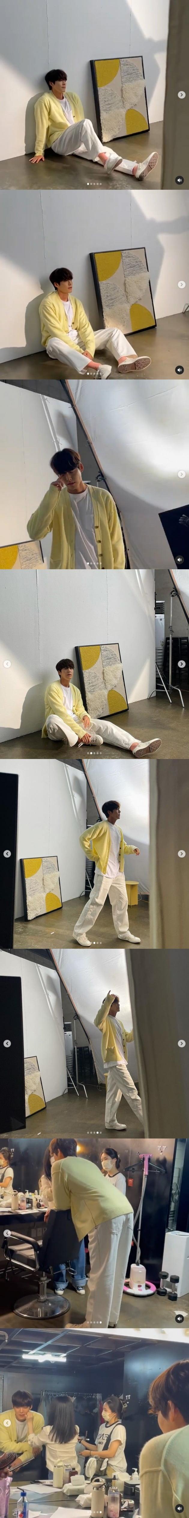 사진=김우빈 인스타그램