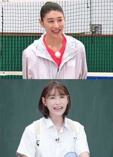 과거 예능프로그램에 출연한 배구 국가대표 김연경/ 사진=SBS, JTBC 제공