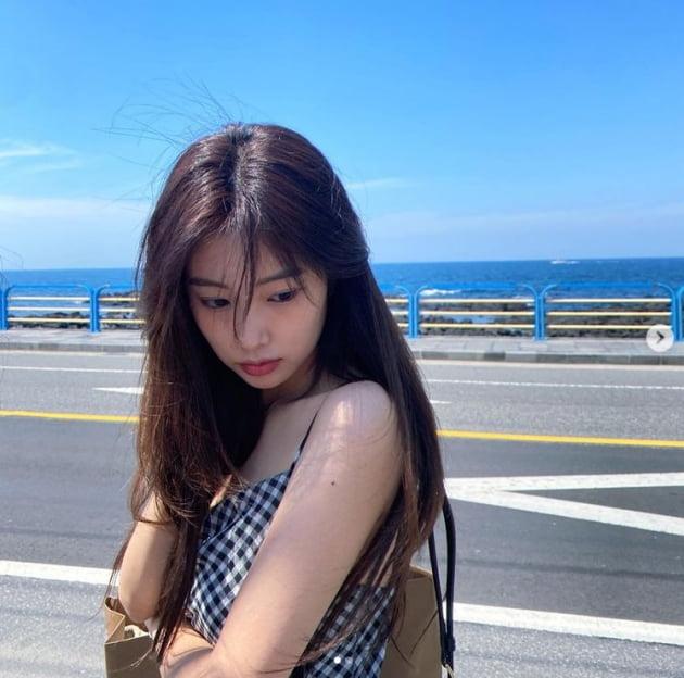 아이즈원 출신 강혜원, 일상이 예쁨...청순美 갑[TEN★]