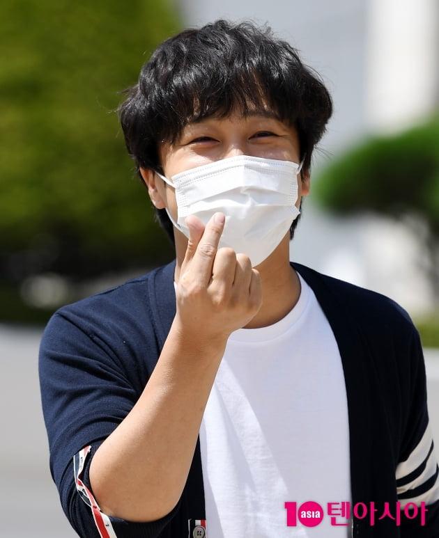 [TEN 포토] 차태현 '매력 넘치는 하트'