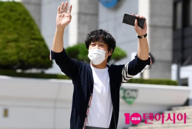 [TEN 포토] 차태현 'KBS드라마 3년만에 찍어요'