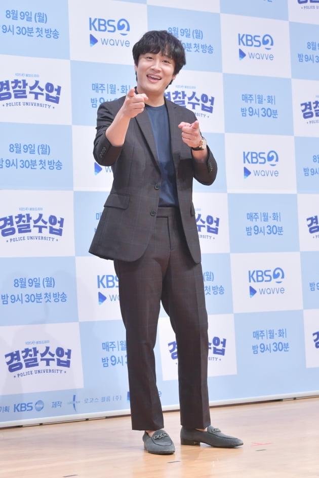 '경찰수업' 차태현/ 사진=KBS2 제공